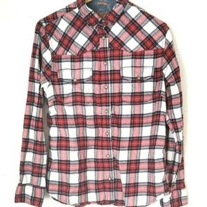 Jachs Girlfriend plaid shirt